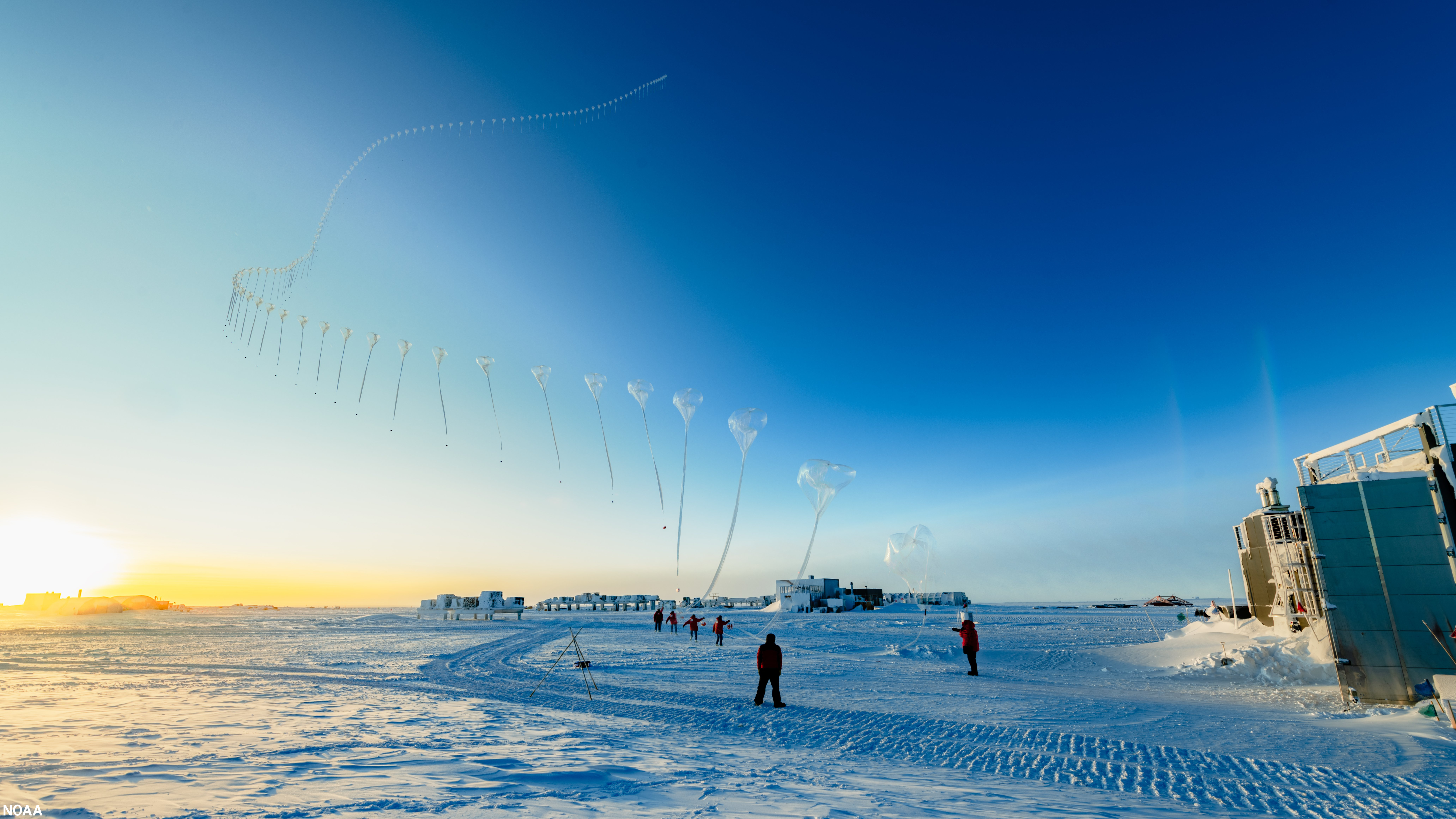 Large, deep Antarctic ozone hole to persist into November