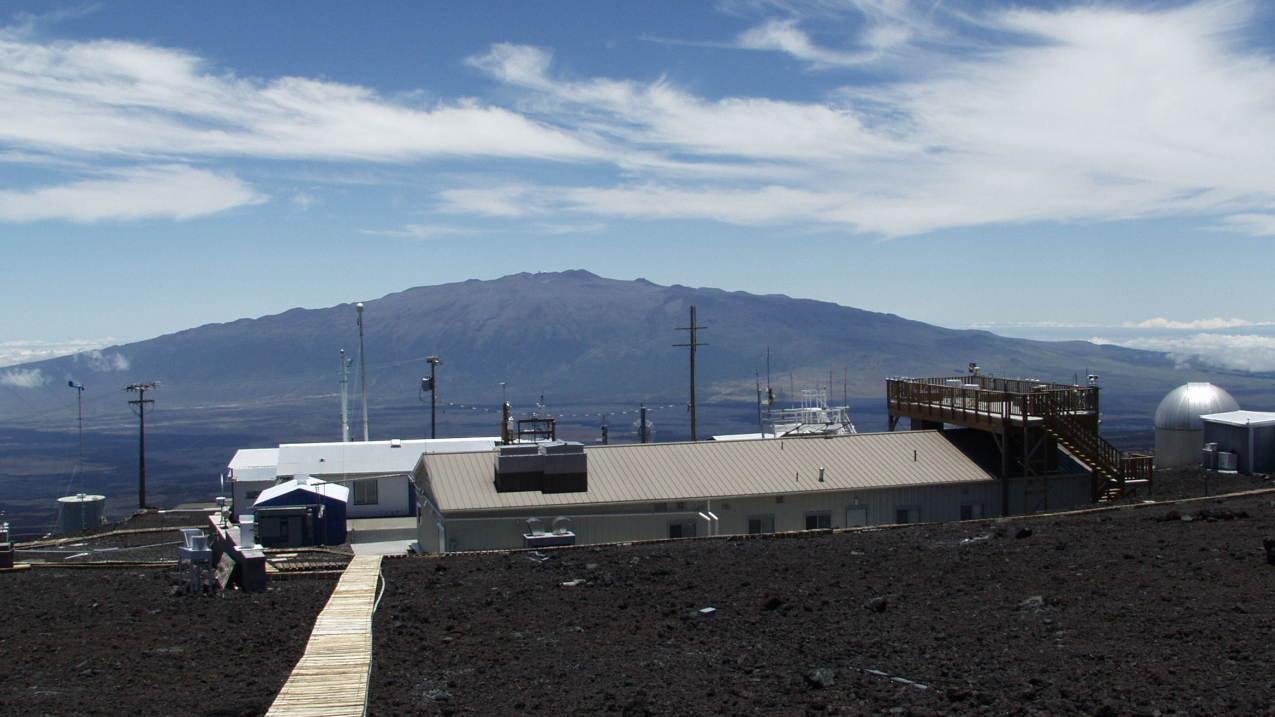 Mauna Loa Observatory is a premier atmospheric research facility that has been continuously monitoring and collecting data related to atmospheric change since the 1950's.